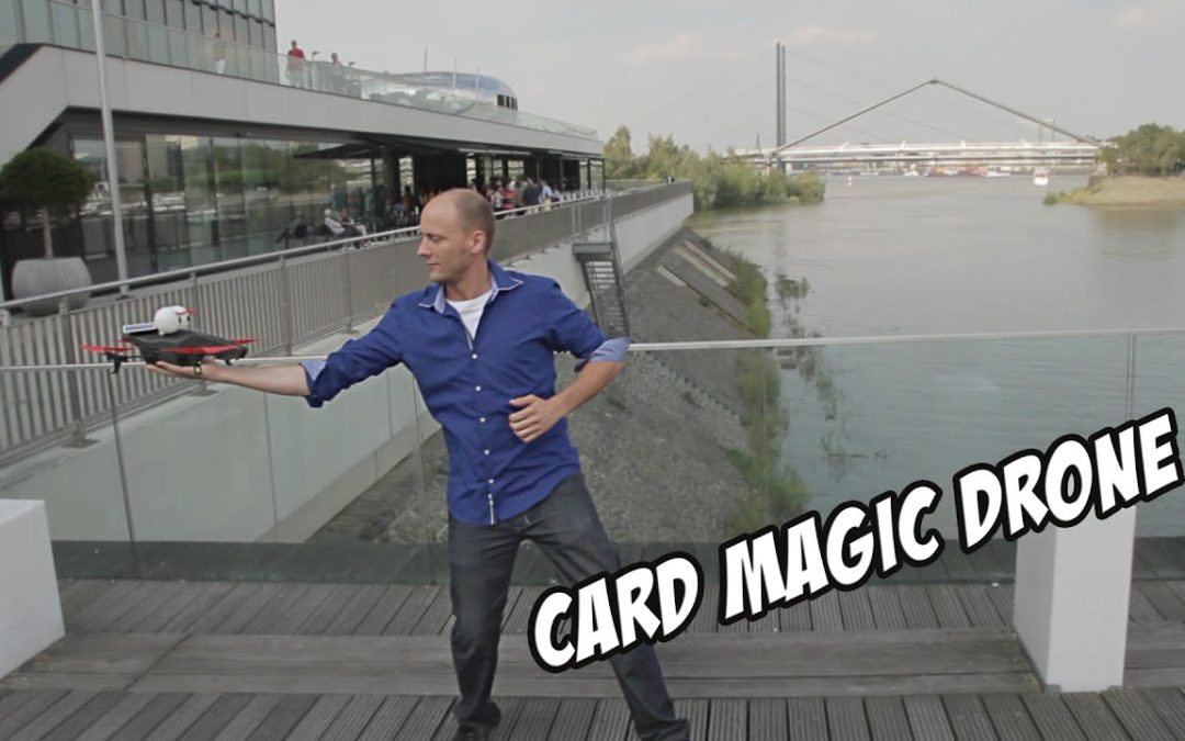 Drone Card Magic in Düsseldorf