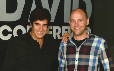 Drohnenmagier Jean Olivier trifft David Copperfield in Las Vegas