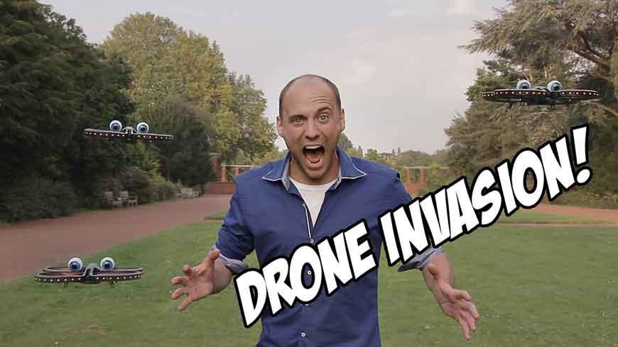Drone Invasion – Erster Teil der Drohnen Serie
