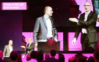 CeBIT – Telekom trade fair magician Jean Olivier
