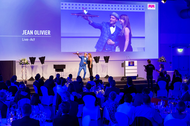 Zauberer Jean Olivier - Industrie Preisverleihung - Best of Industrie Award