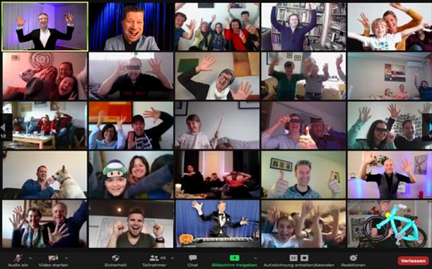 Screenshot Varieté Digital 11.04.2021